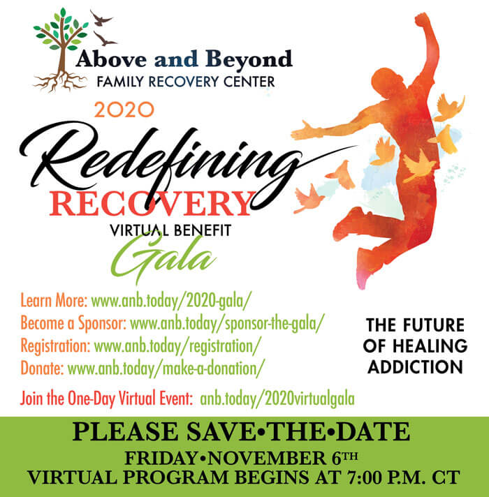 2020 Virtual Fundraising Gala - Above and Beyond Family Recovery Center