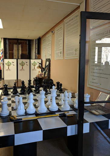 Above and Beyond Chess Table