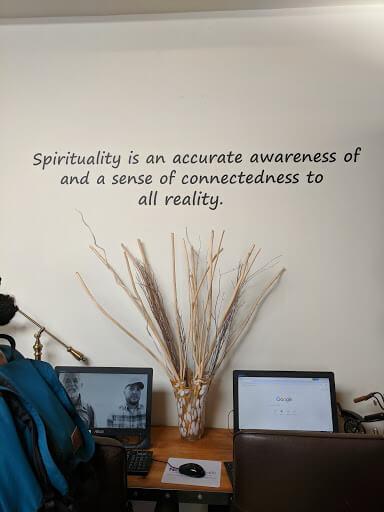 Above and Beyond Spirituality writing